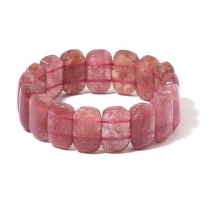 Strawberry Quartz Bracelet (Stretchable) TGW 361.51 cts.