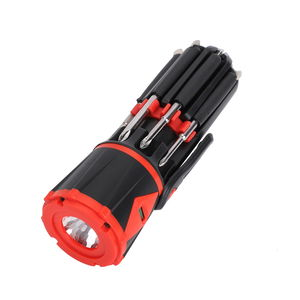 10-in-1 LED Multi-functional Screwdriver Tool (Requires 3 AAA)