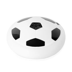 White and Black LED Light Air Football (3.2x3.2 in) (4x1.5AAA Batteries Not Included)