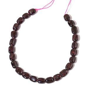 Gem Workshop Mozambique Garnet Beads Strand (15 in) TGW 559.00 cts.