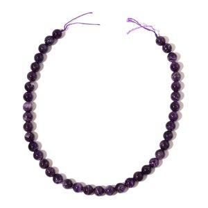 Gem Workshop Amethyst Beads Strand (15 in) TGW 271.00 cts.