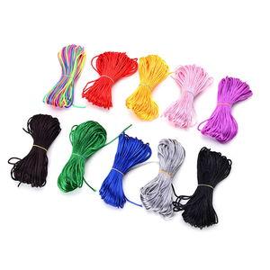 Gem Workshop Multi Color Terylene Set of 10 Cords
