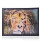 Home Decor Lion 3D Painting with Photo Frame (16.7x12.7 in)