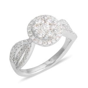 18K WG Diamond (H I1) Ring (Size 6.5) TDiaWt 1.00 cts, TGW 1.00 cts.