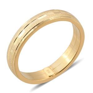 10K YG Band Ring (Size 6.0)
