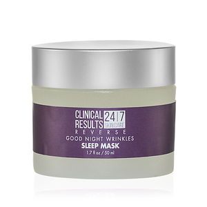 Clinical Results 24.7 Minimize Good Night Wrinkles Sleep Mask