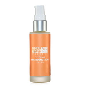 Clinical Results 24.7 Correct Oxygen Brightening Facial