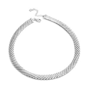 GP Sterling Silver Lines Chain (18 in, 28 g)