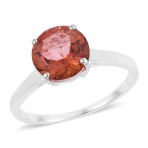 Counter Intuitive Mystic Quartz Sterling Silver Solitaire Ring (Size 7.0) TGW 3.25 cts.