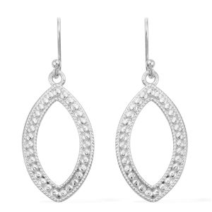Sterling Silver Marquise Earrings (5.34g)
