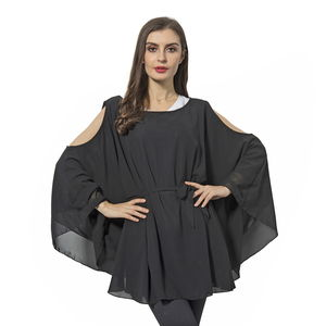 Black 100% Polyester Apparel with Waistband (One Size)