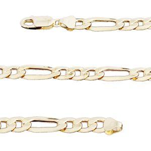 10K YG Figaro Chain (22 in) (14.6 g)