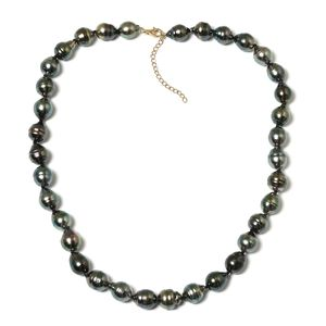 14K YG Tahitian Pearl (9-11 mm) Necklace (18-20 in)