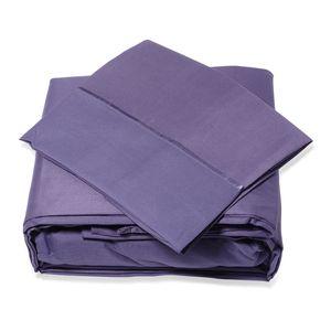 Lexington 2800 Purple Microfiber 6 Piece Sheet Set (Queen)