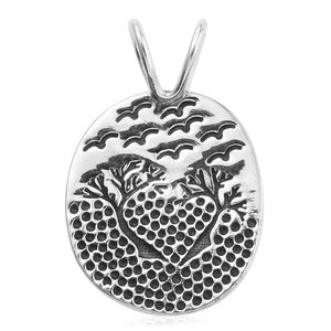 Sterling Silver Pendant without Chain