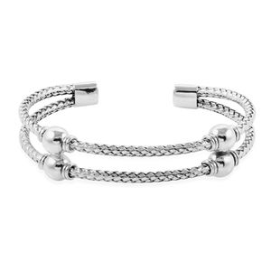 Bali Legacy Collection Sterling Silver Cuff (7.50 in, 27.4 g)