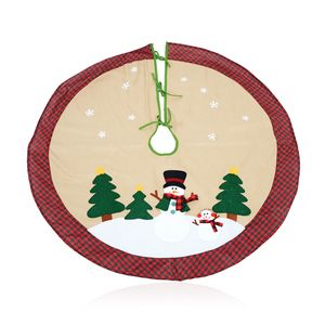 Snowman Holiday Tree Skirt (48 in)